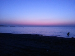 Costinesti rasarit pe plaja