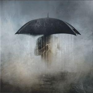 ploaie si umbrela