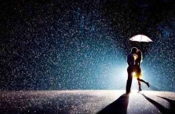 Romance-in-rain